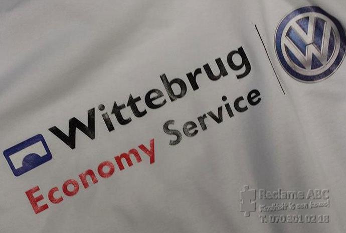 Reclame ABC textielbedrukking wittebrug economy service